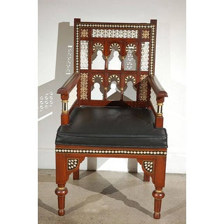 Pair of Moroccan Moorish Armchairs Preview