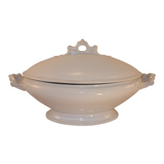 Vintage English Ironstone Casserole For Sale