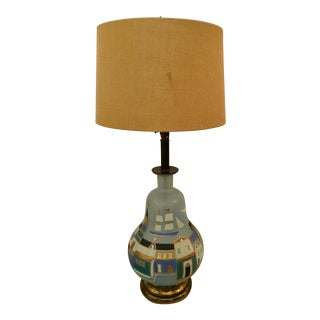 Sacha Brastoff Style Table Lamp For Sale