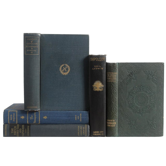 Napoleonic History in Midnight Blue - Set of 5 - Image 1 of 2