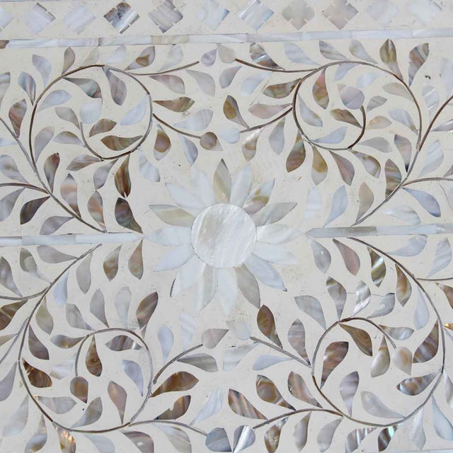 Mother of Pearl Inlay Dresser For Sale - Image 5 of 6