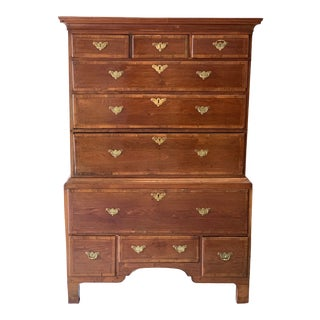 Late 18th Century George III Mahogany Chest For Sale