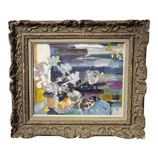 Vintage French Abstract Still Life For Sale