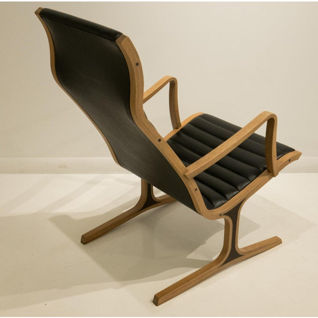 Heron Chair and Ottoman for Tendo Mokko For Sale In New York - Image 6 of 12