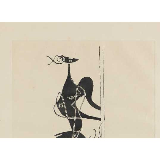 """George Braque """"Ajax"""" Etching and Aquatint - Image 4 of 4"""