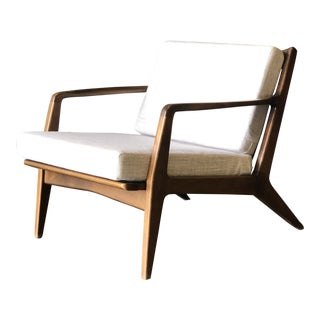 Midcentury Danish Lounge Chair by Kofod-Larson For Sale