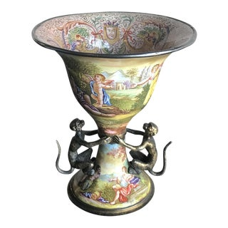Vienna Bronze Enameled Cup
