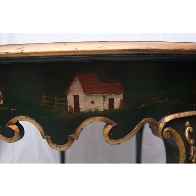 19th Century Northern Italian Painted Center Table - Image 3 of 11