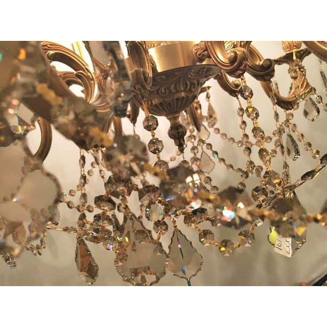 French Swarovski Crystal Chandelier For Sale In New York - Image 6 of 7
