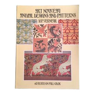 1990s Art Nouveau Design & Pattern Plate Book For Sale