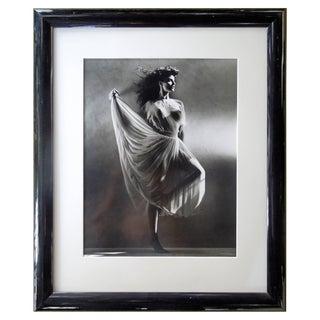Original Greg Gorman Gallery B&w Photograph of Lovely Joan Severance For Sale