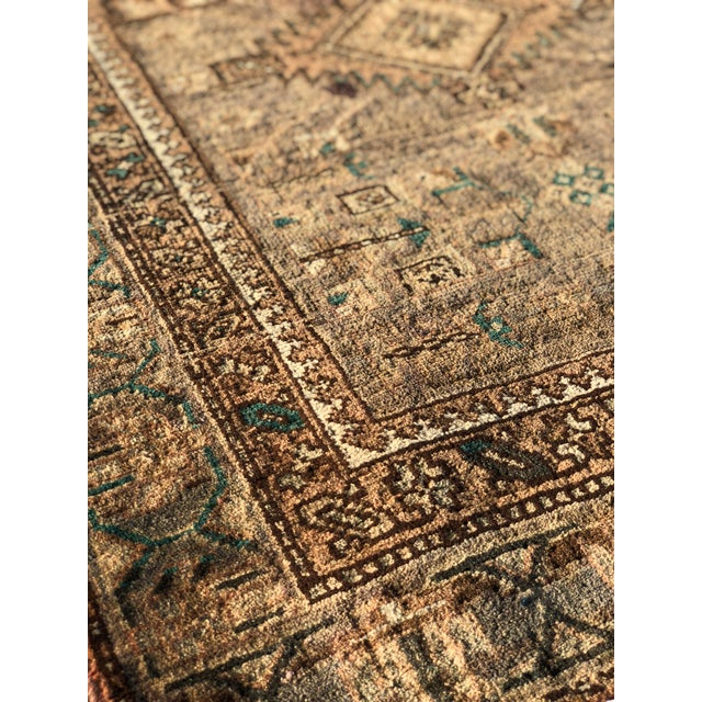 1950s 1950s Vintage Persian Sarab Runner - 3′1″ × 10′6″ For Sale - Image 5 of 13