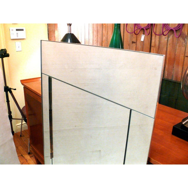 Silver Pair of Large Scale La Barge Mirrors For Sale - Image 8 of 11