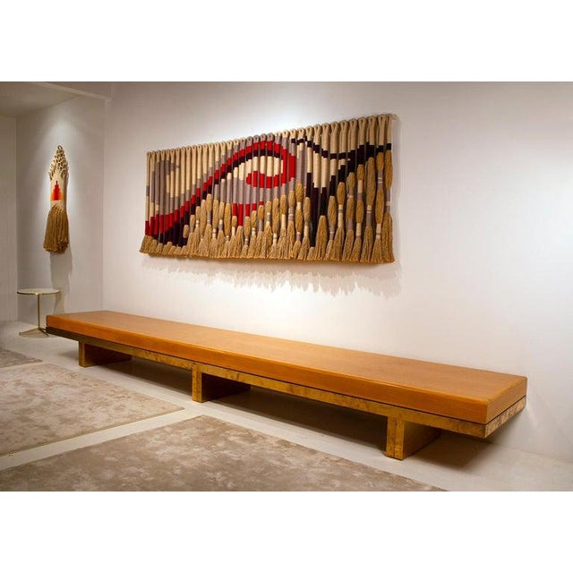 Contemporary Architectural Bench From the Iconic i.m. Pei Dallas City Hall For Sale - Image 3 of 13