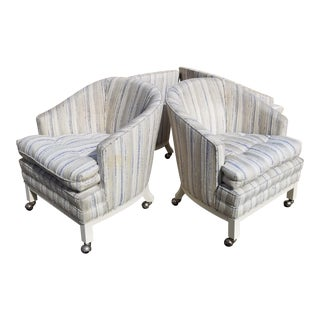 Vintage Mid Century Club Chairs - Set of 4 For Sale