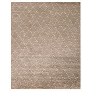 Stark Studio Rugs Contemporary Oriental 100% Bamboo Silk Rug - 9' X 12' For Sale
