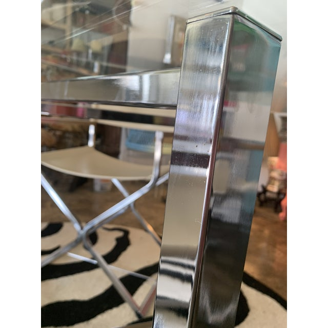 Chrome MCM Dining Set by Robert Kjer Jakobsen for Virtue of California - 5 Pieces For Sale - Image 8 of 13