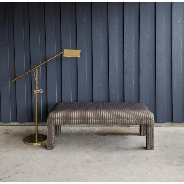 1980s Contemporary Parsons Bench For Sale - Image 11 of 12