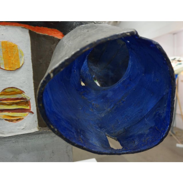 1960s Painted Aluminum Abstract Sculpture by Robert Thomas, 1965 For Sale - Image 5 of 10
