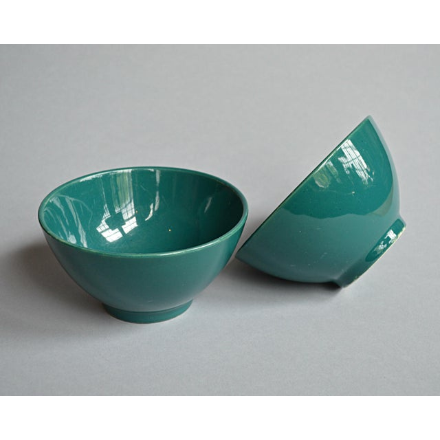 French Coffee Bowls - A Pair - Image 3 of 5
