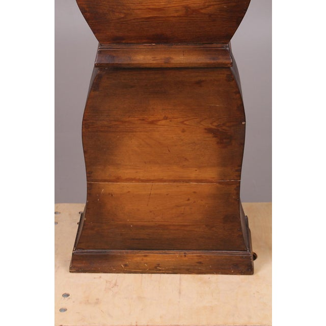 Wood Swedish Longcase Grandfather Clock Anno 1845 For Sale - Image 7 of 12