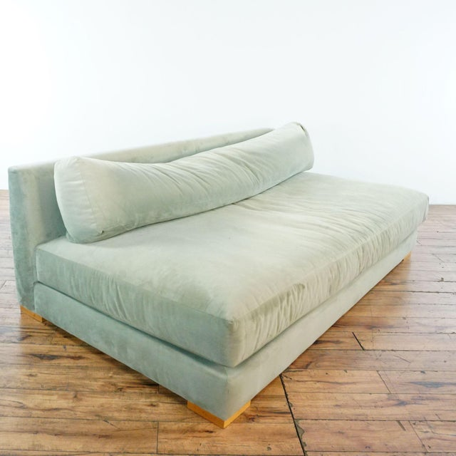 Contemporary CB2 Piazza Storm Upholstered Sofa For Sale - Image 3 of 7