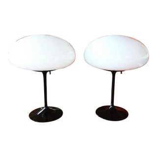 1970s Space Age Modern Bill Curry Stemlite Table Lamps - a Pair For Sale