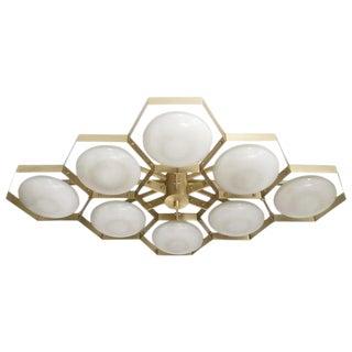 Hive Flush Mount by Fabio Ltd For Sale