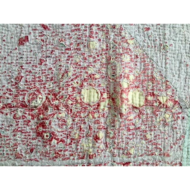 Vintage Handmade Ralli Quilt - Image 8 of 11