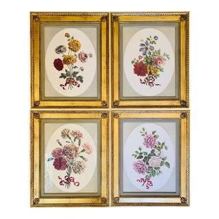 Windham House Botanical Prints - Set of 4 For Sale
