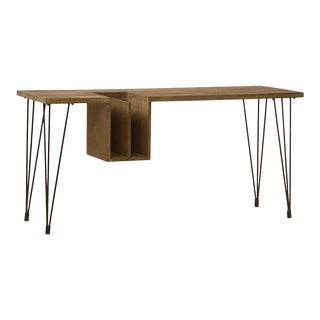 Dacey Wood & Iron Desk For Sale