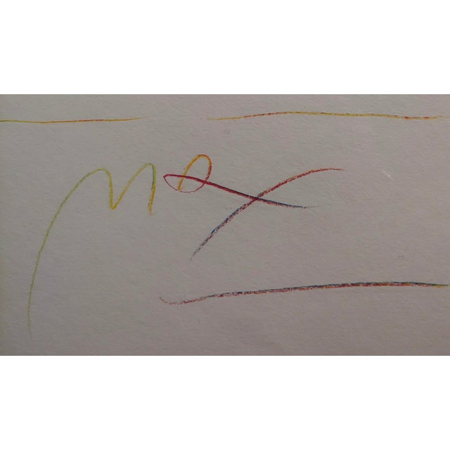 Peter Max - Homage to Pablo Picasso -Original Color Etching For Sale In Los Angeles - Image 6 of 9