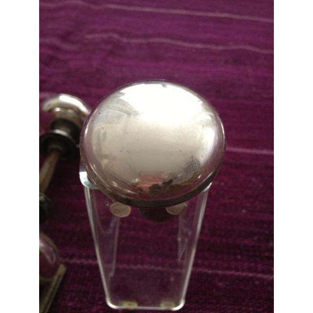 Silver Mercury Glass Door Knobs - 4 Sets For Sale - Image 8 of 11