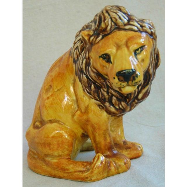 Mid-Century Italian Safari Lion - Image 7 of 7