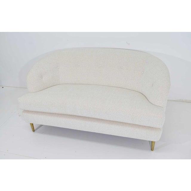 Edward Wormley for Dunbar Short Sofa Model 5406 For Sale - Image 12 of 13