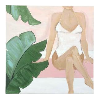 Lauren Jane Beach Babe Contemporary Painting