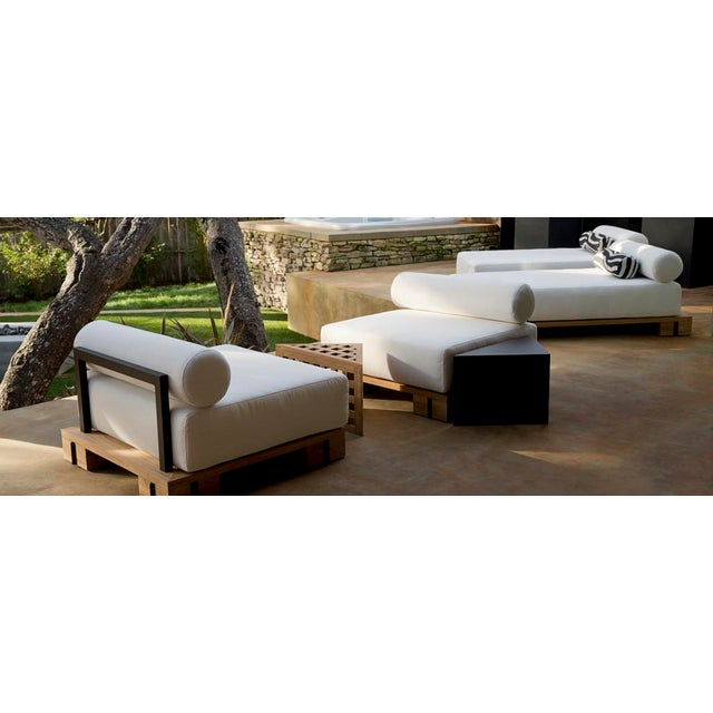 Contemporary Summit Furniture Krios Lounge Chair For Sale - Image 3 of 5