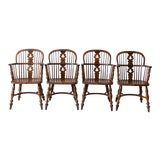 Image of Vintage Conant Ball Colonial Revival Dining Chairs - Set of 4 For Sale