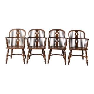 Vintage Conant Ball Colonial Revival Dining Chairs - Set of 4 For Sale