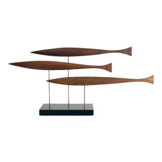 Salmon Run Sculpture 3 For Sale