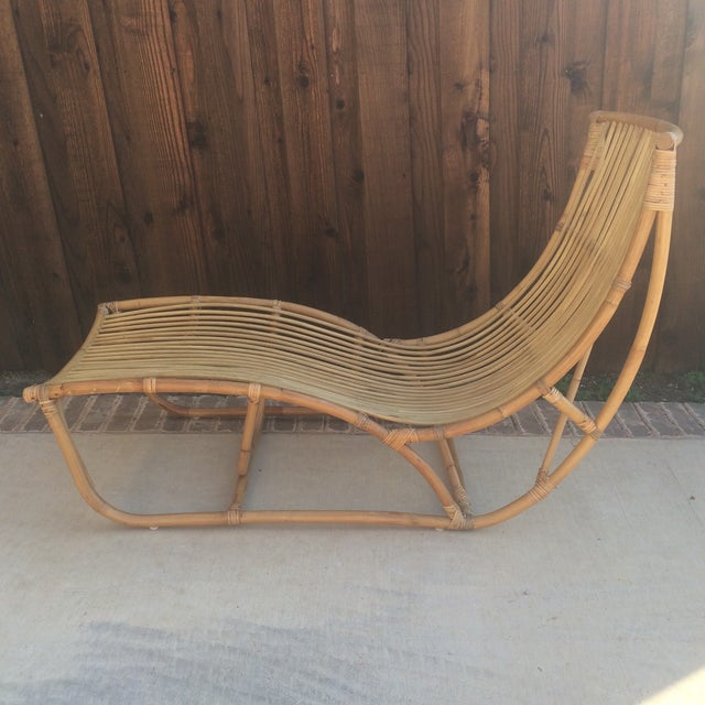 Albini Style Chaise Lounge For Sale - Image 5 of 5