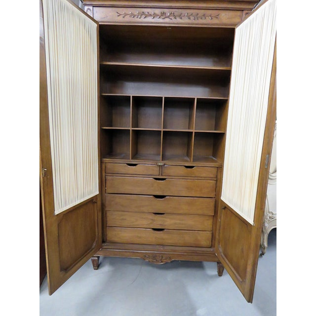 Early 20th Century Auffray Country French Armoire For Sale - Image 5 of 9