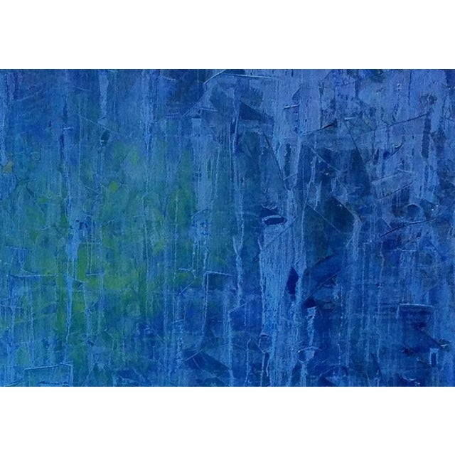 Abstract Teodora Guererra, 'Treading Water' Painting, 2014 For Sale - Image 3 of 4