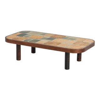 Roger Capron 'Shogun' Ceramic Coffee Table For Sale