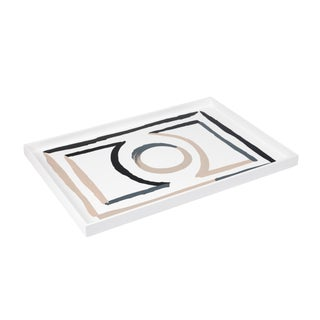 Large Etienne Tray in Bright White - Luke Edward Hall for The Lacquer Company For Sale