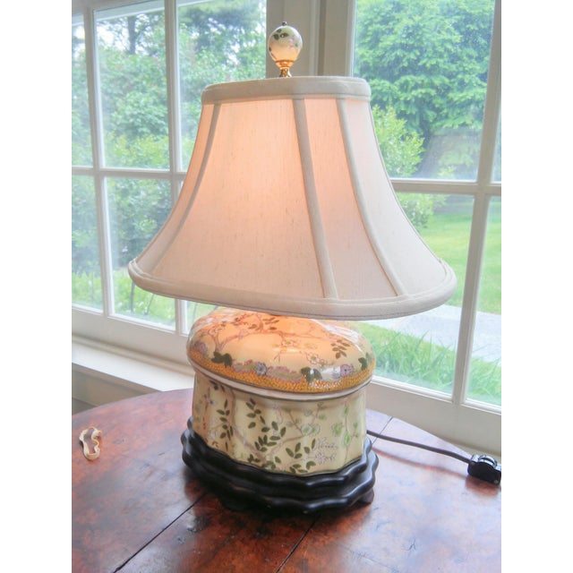 Chinese Oval Jar Lamp - Image 3 of 9