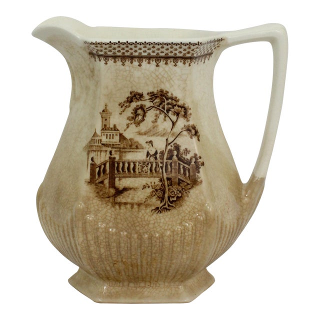 Wm. Adams & Sons English Pitcher For Sale