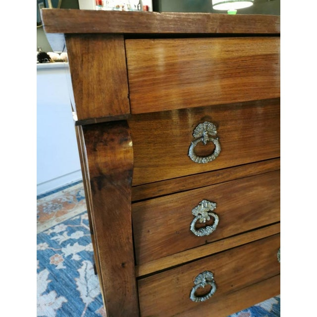 French Walnut Chest of Drawers For Sale - Image 4 of 13