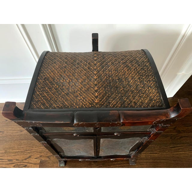 Japanese Traveling Cabinet Oi Edo Period For Sale - Image 12 of 13