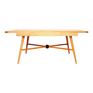 Paul McCobb Pleasant Maple Wood Dining Table For Sale